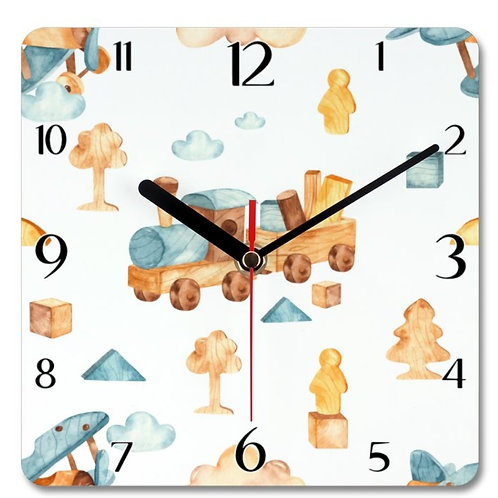 Wooden Toys_18 Themed Personalised Clock