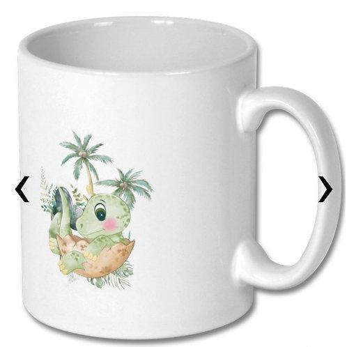 Dinosaur_5 Themed Personalised Mug