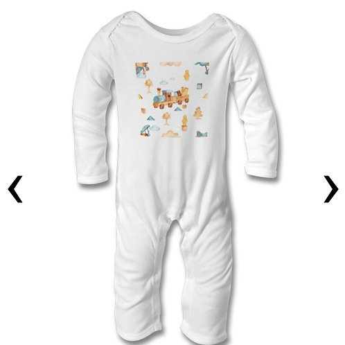 Wooden Toys_18 Themed Personalised Baby Bodysuit
