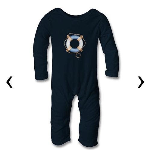 Lifebuoy Ring Themed Personalised Baby Bodysuit