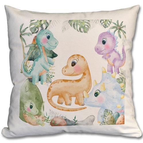 Dinosaurs Themed Personalised Cushion