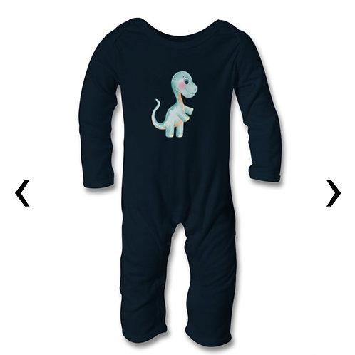 Dinosaur_9 Themed Personalised Baby Bodysuit