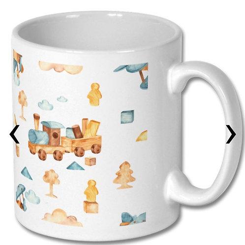 Wooden Toys_18 Themed Personalised Mug