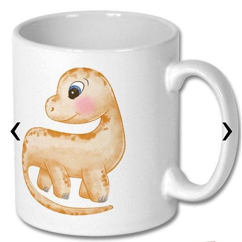 Dinosaur Themed Personalised Mug