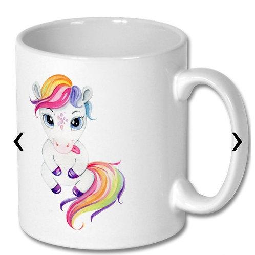 Pony_7 Themed Personalised Mug