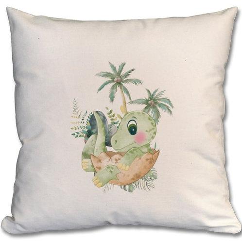 Dinosaur_5 Themed Personalised Cushion