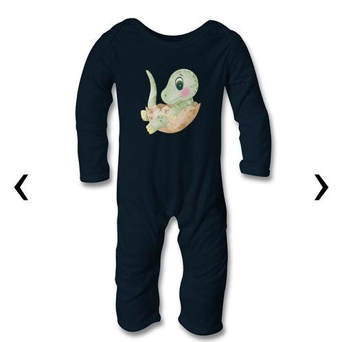 Dinosaur_10 Themed Personalised Baby Bodysuit