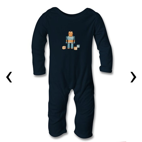 Wooden Toys Themed Personalised Baby Bodysuit