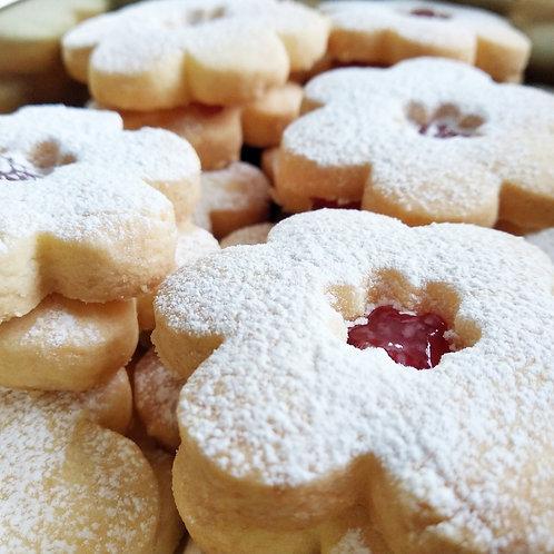 Gluten-free Linzer Biscuits (large 700g)