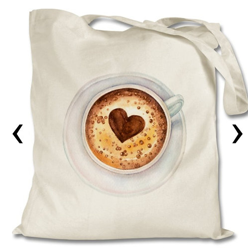 Coffee_7 Themed Personalised Tote Bag