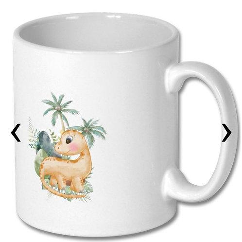 Dinosaur_4 Themed Personalised Mug