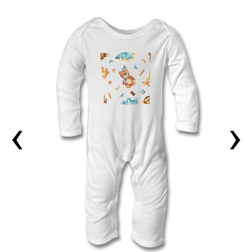 Wooden Toys_17 Themed Personalised Baby Bodysuit