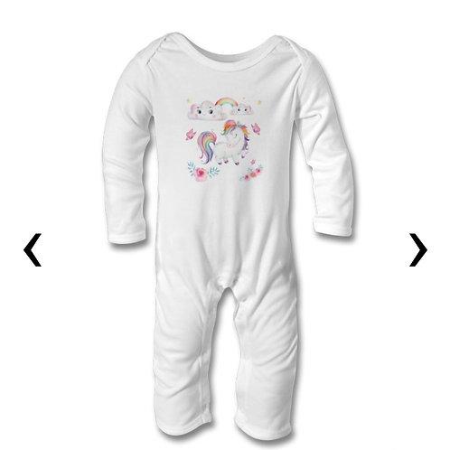 Pony_4 Themed Personalised Baby Bodysuit