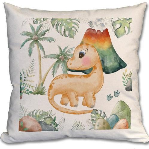 Dinosaur_2 Themed Personalised Cushion