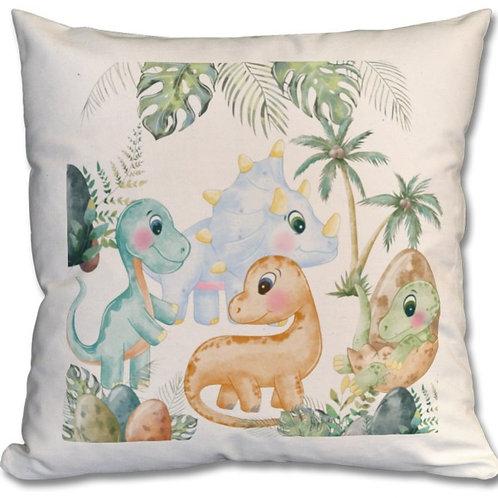 Dinosaurs_2 Themed Personalised Cushion