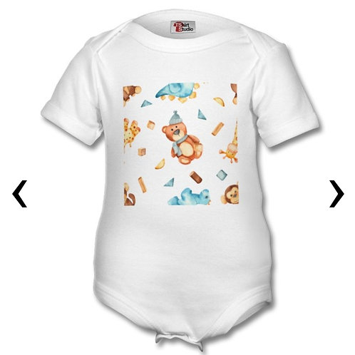 Wooden Toys_17 Themed Personalised Baby Grows