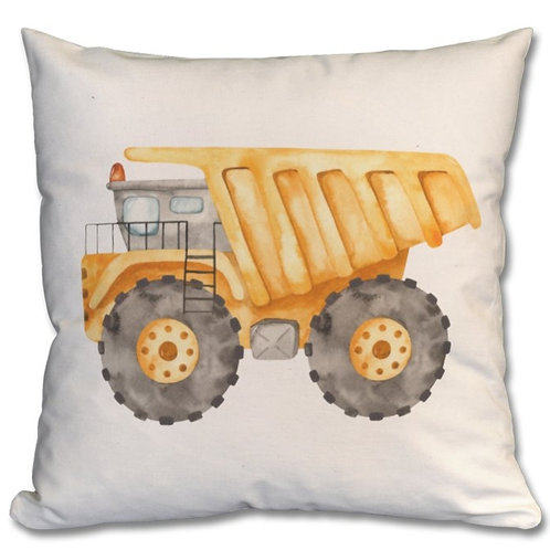 Dump Truck Themed Personalised Cushions