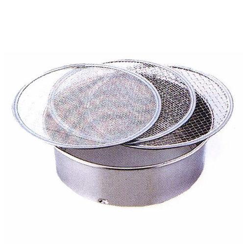 Κόσκινο  Inox 21cm με 3 σίτες  5mm 2mm 1mm