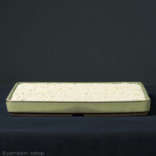 Suiban plate με λευκή άμμο 27χ19χ3