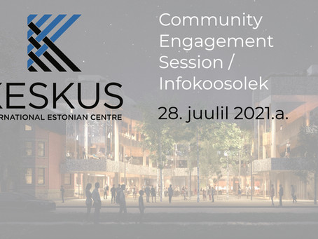 Viis teemat  28. juulil peetud KESKUSe infokoosolekult!