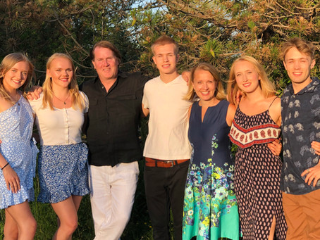 Donor (and volunteer!) Profile: Liisa & John Käärid and family