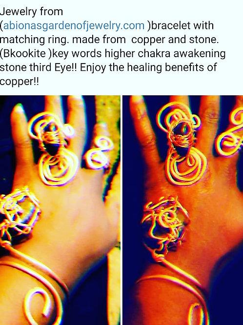 Copper Bracelet Set