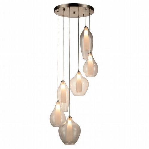 6 Tier Botella Hanging Light
