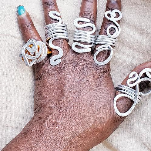 Fun Silver Rings