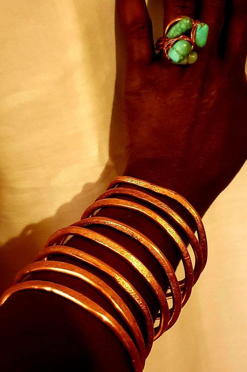 Infinity Copper & Turquoise Set