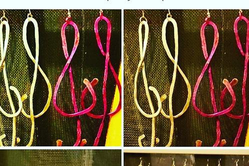 Color G Clefs
