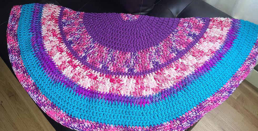 Purple Passion Circle of Love Blanket