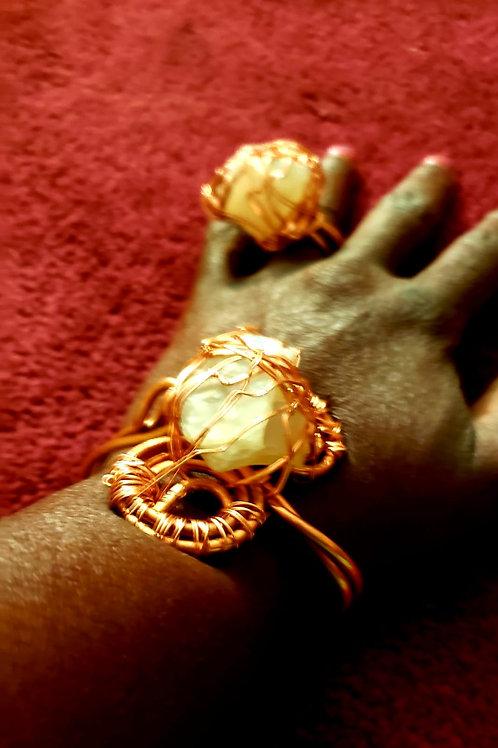 Power Copper & Stone Set
