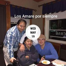 Julio Cesar Delgado (Left) 04/26/2020 Juanita Maria Borja Jimenez (Middle) 05/19/2020 Luis Alberto Delgado (Right) 05/07/2020