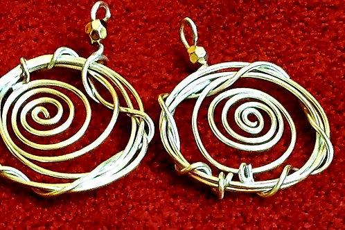 Fancy Silver Earrings
