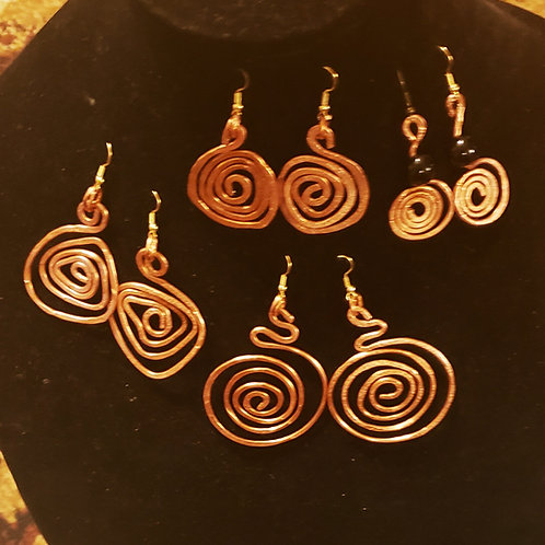 Copper Earrinzzzzz