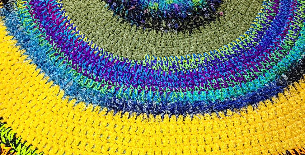 Skittles Circle of Love Blanket