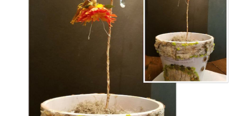 Whimsical Fairy Planter