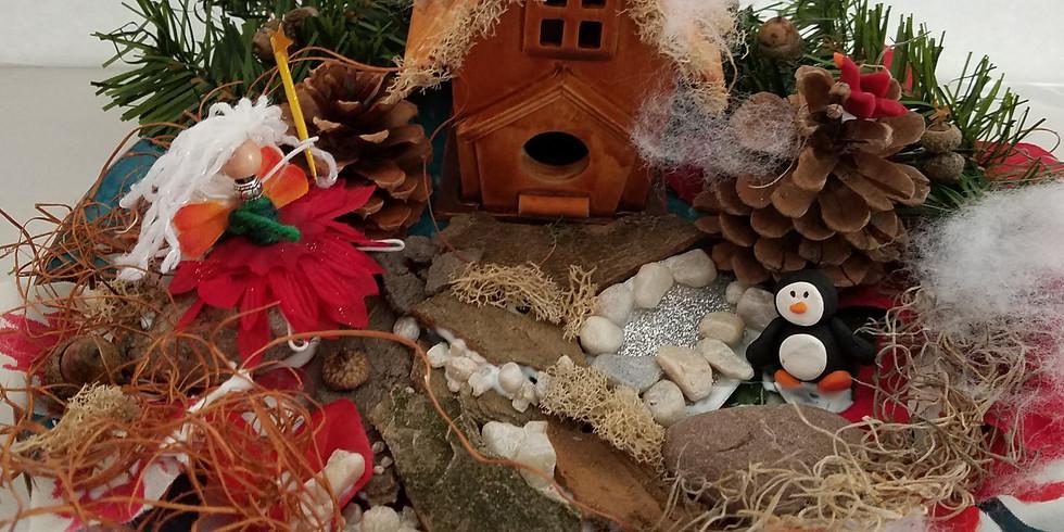 Holiday Fairy Garden