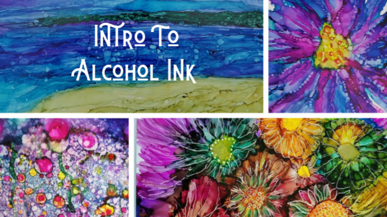 Intro to Alcohol Inks