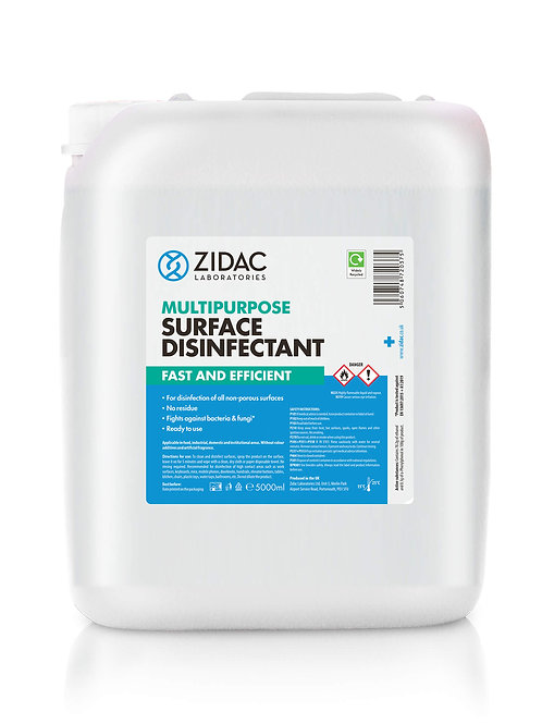 Multipurpose Surface Disinfectant - 5L Jerry Can