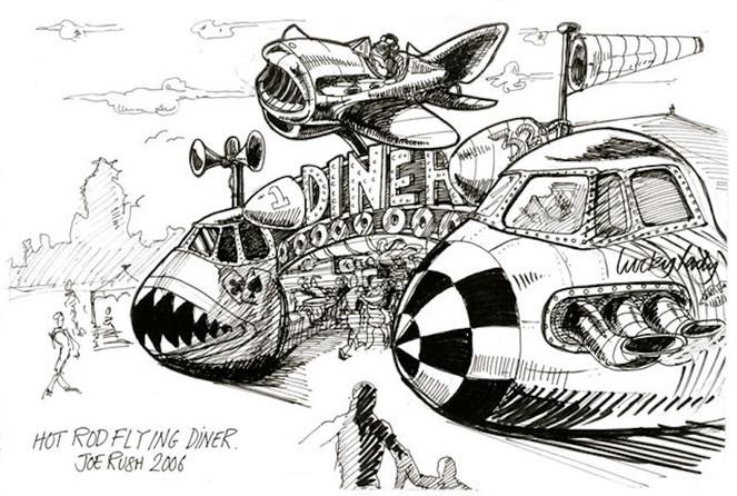 Hot Rod Flying Diner
