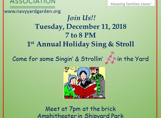 1st Annual Sing & Stroll