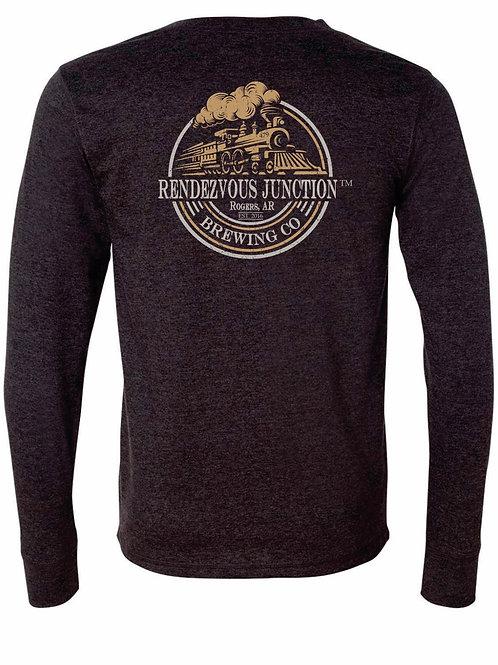 RJ Henley - Vintage Gold & Grey Logo