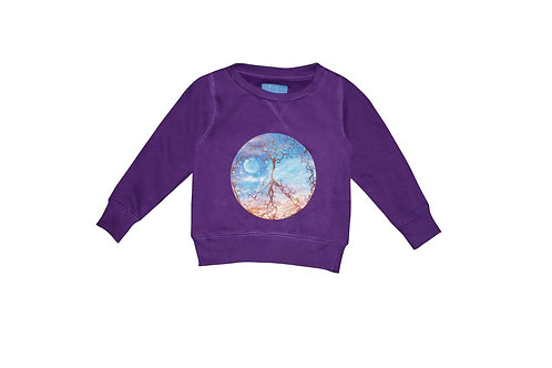 Peaceful Purple Sweatshirt