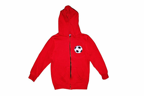Let's Play Soccer Sweat Shirt Hoodie