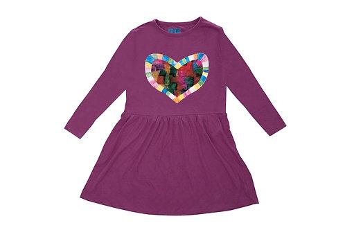 Mosaic Heart Dress