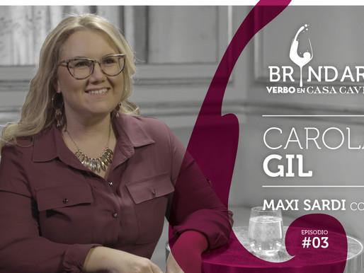 Carola Gil en BRINDAR!