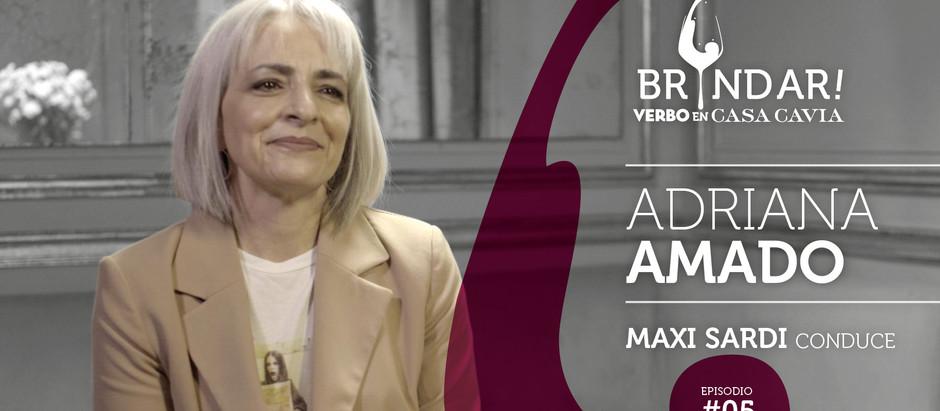 Adriana Amado en BRINDAR!
