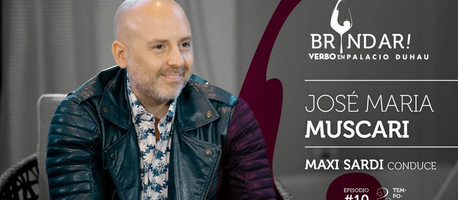José María Muscari abre la segunda temporada de BRINDAR!, en el Palacio Duhau