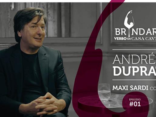 Andrés Duprat, Director del Museo Nacional de Bellas Artes en BRINDAR!